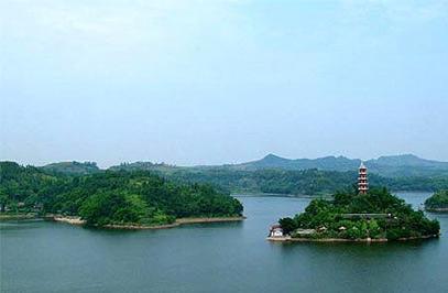 中国四川广安旅游景点介绍:岳池翠湖
