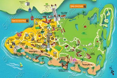圣淘沙地图