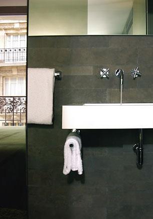 组图:法国塞泽酒店立体的通透感
