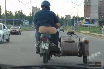 胖子骑摩托的坏处