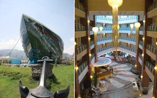 """土耳其""""泰坦尼克号""""酒店"""