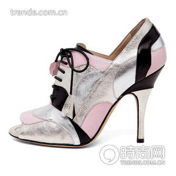 拼接高跟靴 Dolce & Gabbana