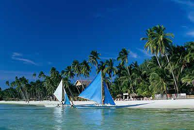 美丽菲律宾长滩岛