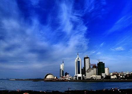 青岛城市美景
