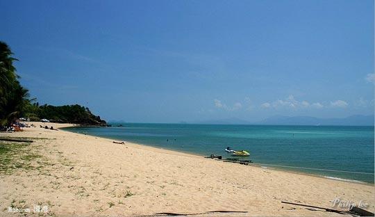 Maenam海滩