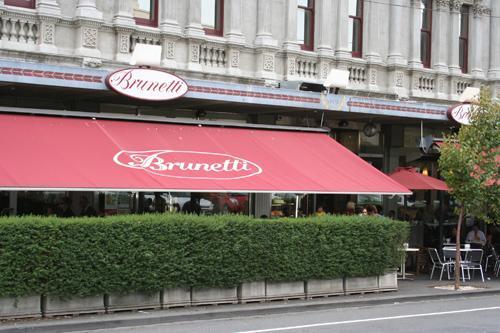 卡尔顿区的Brunetti咖啡店