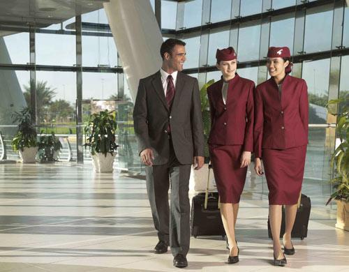 卡塔尔航空空姐