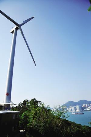南丫岛标志性的大风车拍照必去之处。