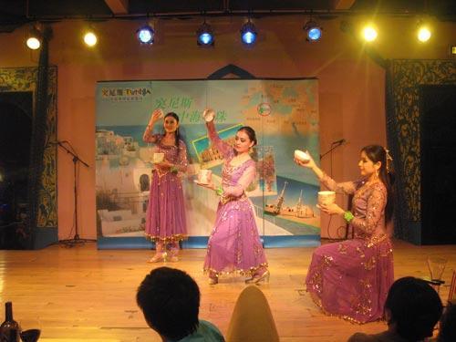 开幕式上的特色风情舞蹈