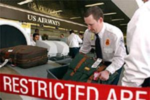 机场行李托运