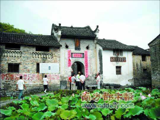 丰阳古村已有千年历史