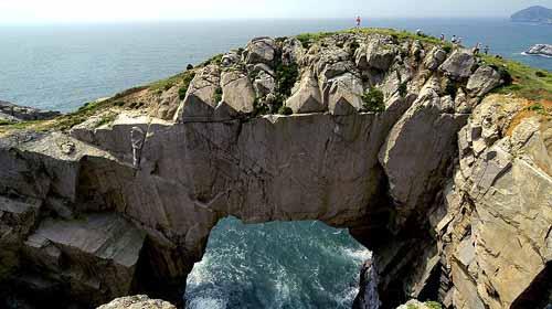 渔山岛仙人桥