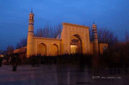 14.喀什艾提尕尔清真大寺 作者 山魂
