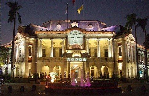 先欣赏一下台中市政府的建筑吧!