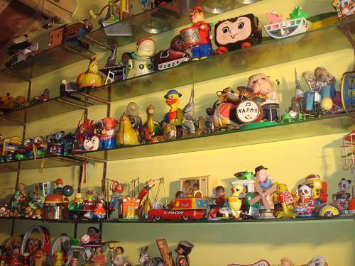 铁皮玩具收藏馆部分藏品
