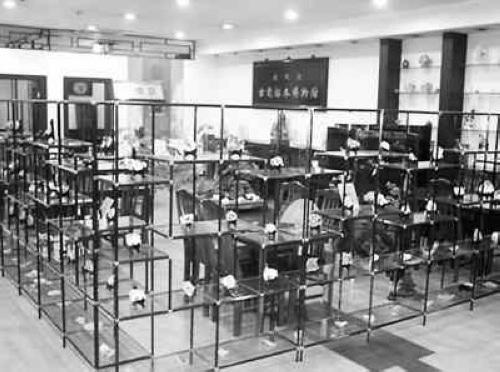 睦明唐古瓷标本博物馆展区