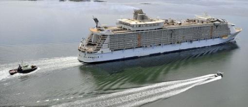 """据悉,""""海洋绿洲""""号的首航还有一些船票尚未售出"""