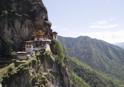 不丹的虎穴寺