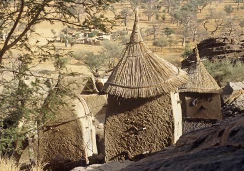 马里的多贡族建筑
