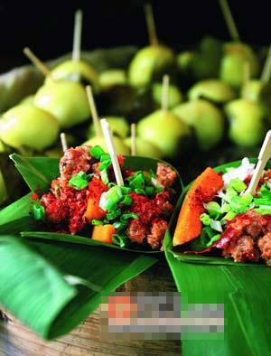 竹叶牛肉和叶儿粑不仅好吃,而且包装环保又漂亮。