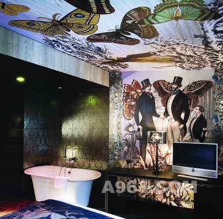 设计感十足的法国贝尔歇斯酒店