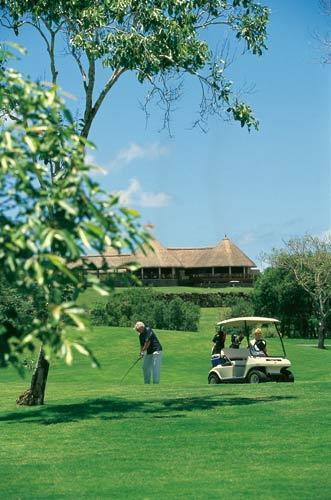 美丽的高尔夫球场