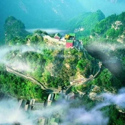 迷人的武当山
