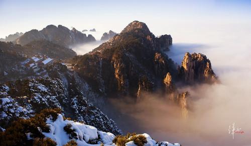 观黄山云海 梦境般的完美时光