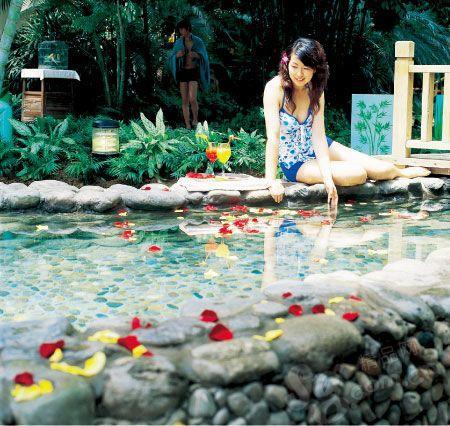 龙熙温泉是个很有情调的泡汤之地
