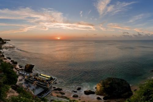 岩石吧落日美景Sunset Pano