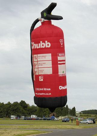 消火栓热气球很有创意