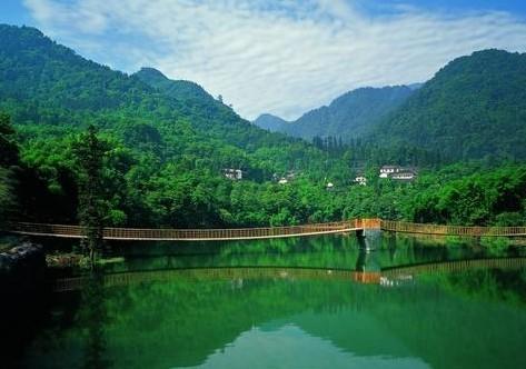 清音平湖湖光山色