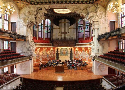 巴塞罗那泰罗尼亚音乐厅