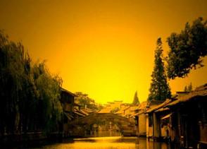 乌镇:享受初秋的午后阳光