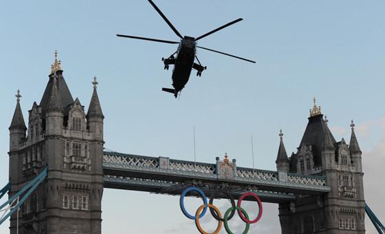 奥运圣火空降伦敦
