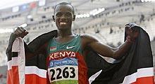肯尼亚人破奥运纪录夺冠 邓海洋第25