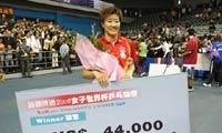 2006年 郭焱首夺冠