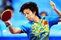 北京奥运会蝉联女单桂冠