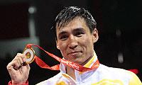 男子81公斤级 张小平夺冠