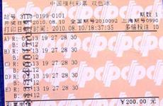 上海彩民中双色球2.59亿