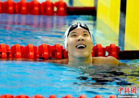 韩国泳坛一哥朴泰桓无疑是韩国民众最受关注的。
