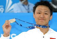 2009张琳夺室外世锦赛中国男子首金