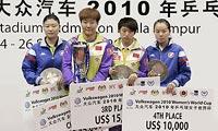 2010年 郭焱二度夺冠