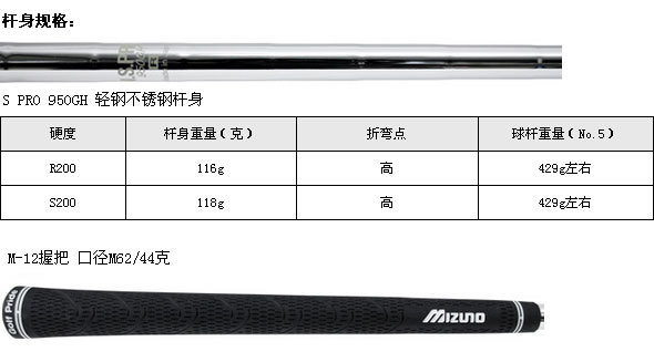 MP-59铁杆(NS.PRO950)