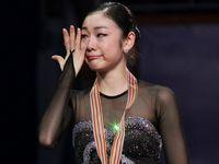 2011年世锦赛 金妍儿洒泪