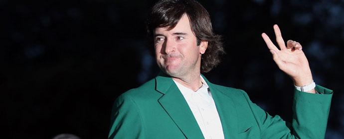 美国大师赛巴巴沃森穿上象征胜利的绿夹克