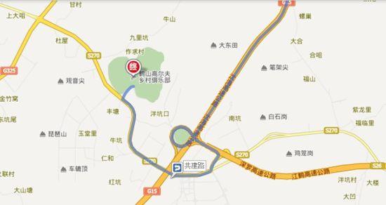 驾车路线图
