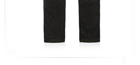 宽条灯芯绒长裤