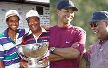高尔夫球星和他们的父亲