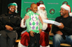 NBA球星参加圣诞公益活动盘点